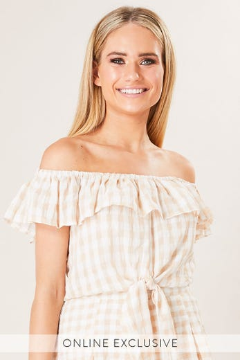 MARY OFF SHOULDER TOP