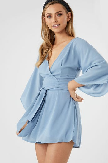 BELL SLEEVE PLAYSUIT