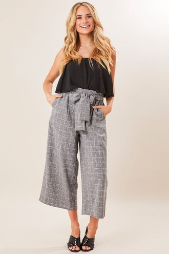 CHECK DETAIL CULOTTE