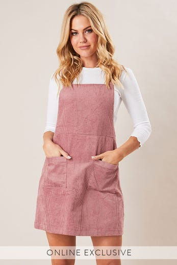 KINSLEY CORD PINAFORE