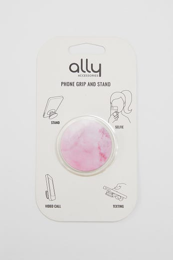 MOBILE PHONE GRIP AND STAND