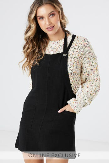 PARKER DUNGAREE DRESS